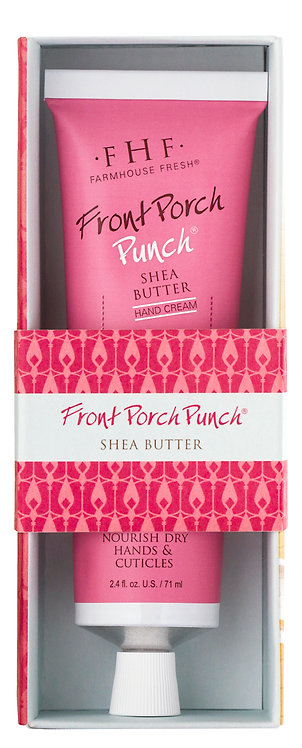 Front Porch Punch Shea Butter Hand Cream Tubes