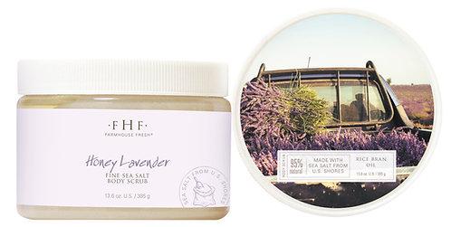 Honey Lavender Sea Salt Body Polish