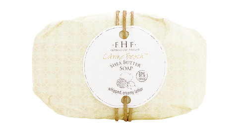 Citrine Beach Shea Butter Bar Soap