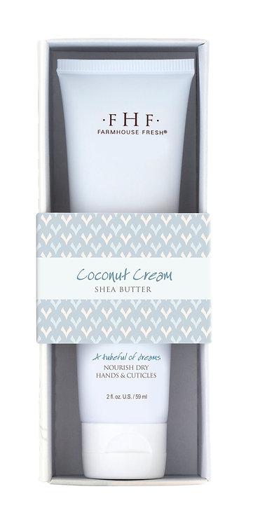 Coconut Cream Shea Butter Hand Cream Tubes