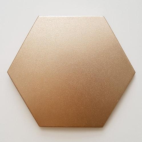 Luxury PU Wall ทรงหกเหลี่ยมนูน HEXAGON CONVEX ขนาด 10x10x1.7cm. (ราคาต่อแผ่น)