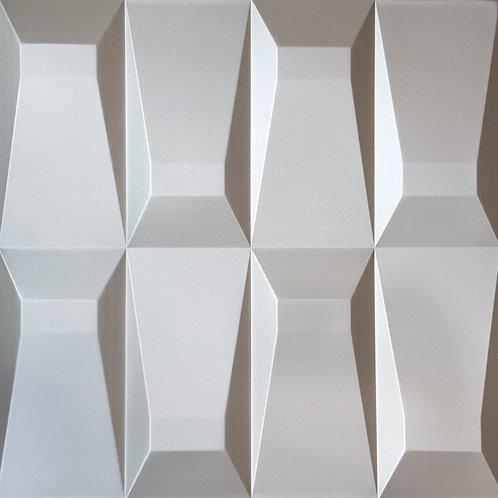 4D Wall ผนังซับเสียง วัสดุ PU รุ่น YS-4 ขนาด 60x60x2.2cm. (ราคาต่อแผ่น)