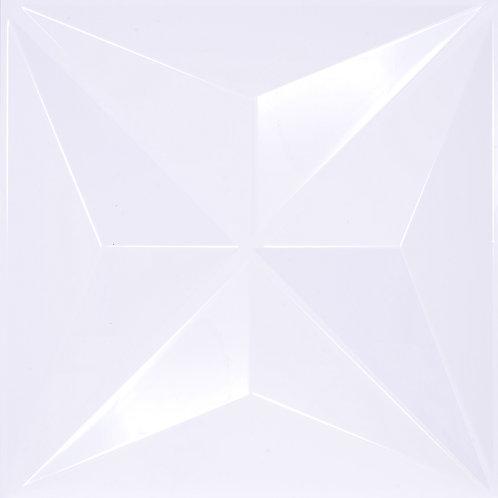 3D Wall Panel ผนังสามมิติ วัสดุ POLY ลาย PYRAMID ขนาด 50*50cm. (ราคาต่อ1ตร.ม)
