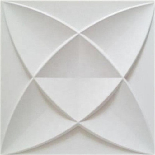 3D Wall Panel ผนังสามมิติ วัสดุ PVC ลาย ISTANBUL ขนาด 50x50cm. (ราคาต่อ1ตร.