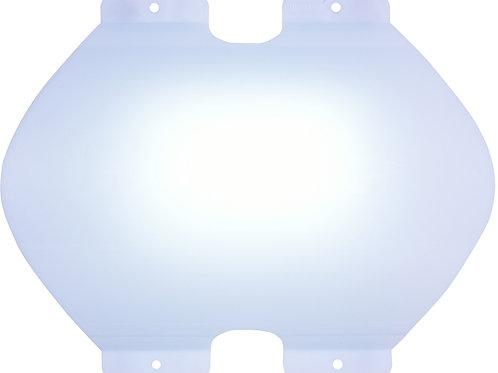 Spline Wall ผนังซ่อนไฟ แผ่นโปร่งแสง ขนาด W26.5xL32H6cm.(ราคาต่อ1ตร.ม)