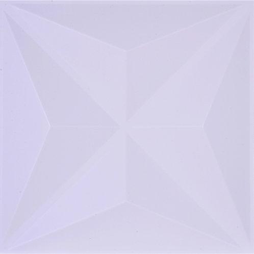3D Wall Panel ผนังสามมิติ วัสดุ PVC ลาย PYRAMID ขนาด 50x50cm. (ราคาต่อ1ตร.ม)