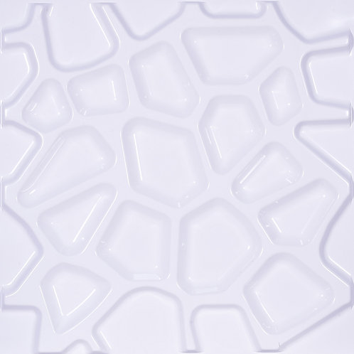 3D Wall Panel ผนังสามมิติ วัสดุ POLY ลาย ROOT ขนาด 50*50cm. (ราคาต่อ1ตร.ม)