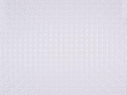 3D Wall Panel ผนังสามมิติ วัสดุPOLY ลาย HOPE MINI ขนาด 90*112.5cm.(ราคาต่อ1ตร.ม)