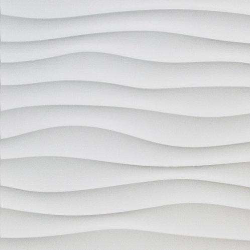 3D Wall Panel ผนังสามมิติ วัสดุ PVC ลาย WIND ขนาด 50x50cm. (ราคาต่อ1ตร.ม)