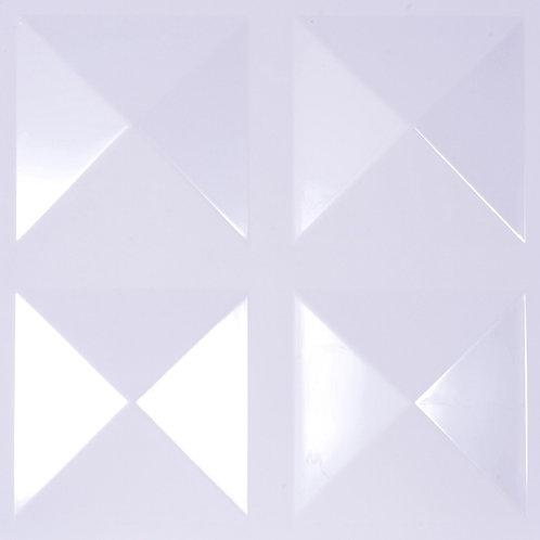3D Wall Panel ผนังสามมิติ วัสดุ POLY ลาย EXCELSIOR ขนาด 50*50cm. (ราคาต่อ1ตร.ม)