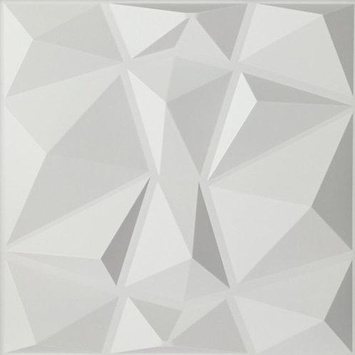 3D Wall Panel ผนังสามมิติ วัสดุ PVC ลาย DIAMOND ขนาด 50x50cm. (ราคาต่อ1ตร.ม)