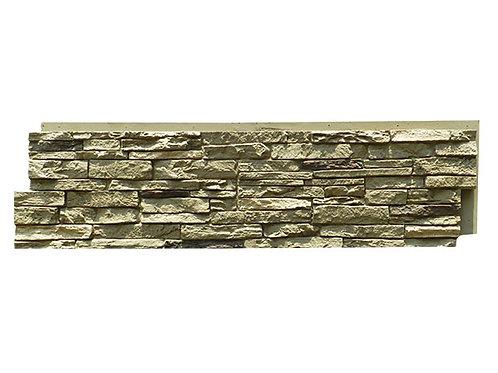 FAUX STONE ผนังหินเทียม วัสดุPU รุ่น ZSS ขนาด 120*30*3.5cm. (ราคาต่อตร.ม)