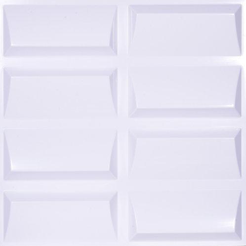 3D Wall Panel ผนังสามมิติ วัสดุ POLY ลาย ISOLOGUE ขนาด 50*50cm. (ราคาต่อ1ตร.ม)