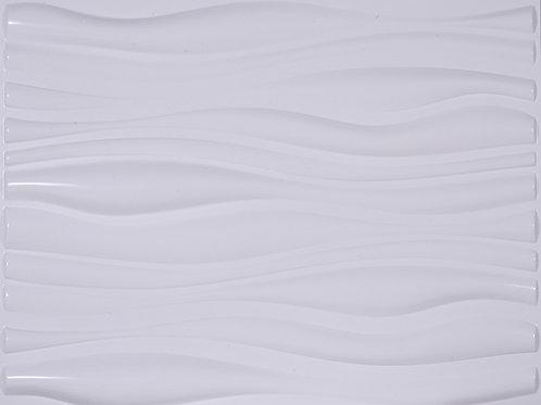 3D Wall Panel ผนังสามมิติ วัสดุ PVC ลาย SMALL WAVE ขนาด 62.5x80cm.(ราคาต่อ1ตร.ม)
