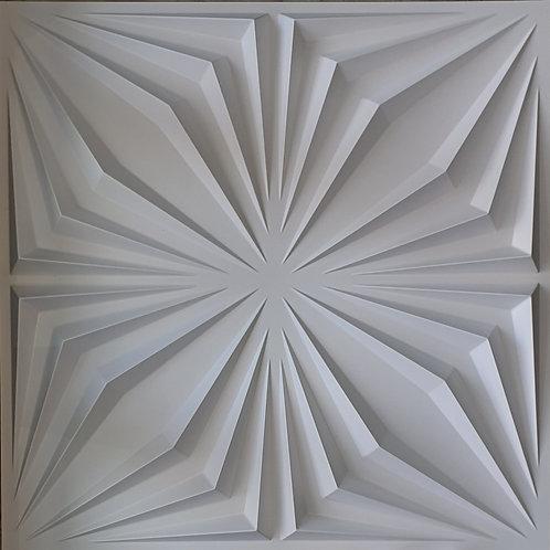 3D Wall Panel ผนังสามมิติ วัสดุ PVC ลาย SPIDER ขนาด 50x50cm. (ราคาต่อ1ตร.ม)