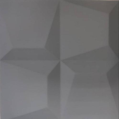 4D Wall ผนังซับเสียง วัสดุ PU รุ่น YS-11 ขนาด 60x60x2.5cm. (ราคาต่อแผ่น)