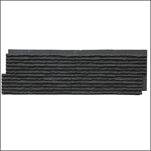 FAUX STONE ผนังหินเทียม วัสดุ PU รุ่น ZSL ขนาด 120*30*3.5cm. (ราคาต่อตร.ม)