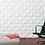 Thumbnail: 3D Wall Panel ผนังสามมิติ วัสดุPOLY ลาย SATISFACTORY ขนาด 50*50cm.(ราคาต่อ1ตร.ม)