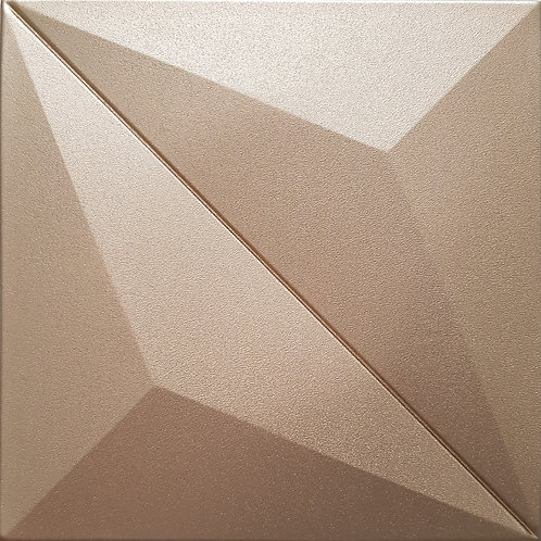 Luxury PU Wall ทรงสี่เหลี่ยม TRIANGLE IN SQUARE ขนาด 30x30x1.7cm. (ราคาต่อแผ่น)