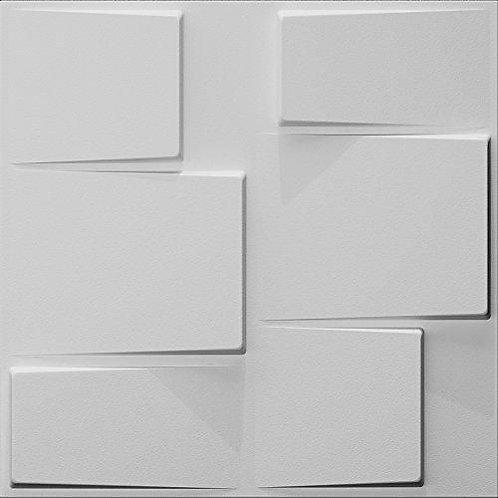 3D Wall Panel ผนังสามมิติ วัสดุ PVC ลาย RUBIK ขนาด 50x50cm. (ราคาต่อ1ตร.ม)