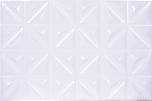 3D Wall Panel ผนังสามมิติ วัสดุ POLY ลาย HOPE SMALL ขนาด 40*60cm. (ราคาต่อ1ตร.ม)