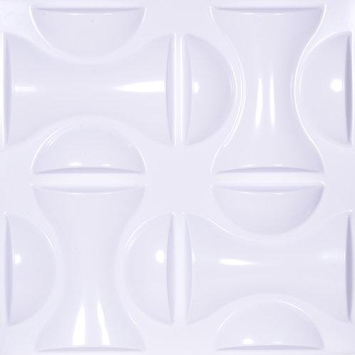 3D Wall Panel ผนังสามมิติ วัสดุ POLY ลาย NON POLAR ขนาด 50*50cm. (ราคาต่อ1ตร.ม)