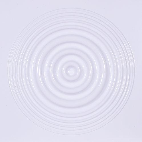 3D Wall Panel ผนังสามมิติ วัสดุ POLY ลาย RIPPLE ขนาด 50*50cm. (ราคาต่อ1ตร.ม)