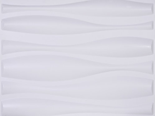3D Wall Panel ผนังสามมิติ วัสดุ PVC ลาย GREAT WAVE ขนาด 62.5x80cm.(ราคาต่อ1ตร.ม)