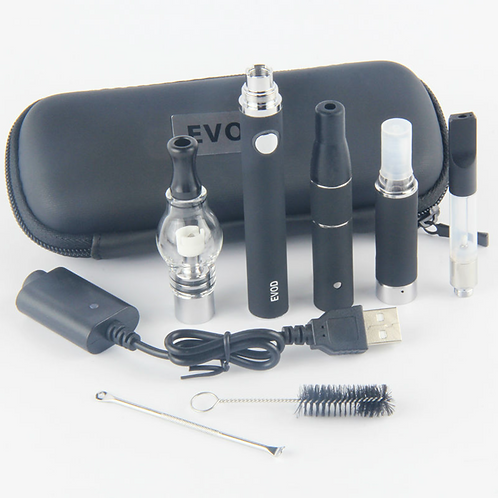 Kingfish EVOD Electronic cigarette 4 In 1 evod Batery with 4 Atomizers