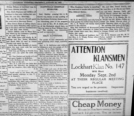 Lockhart Klan Sept 1923.jpg