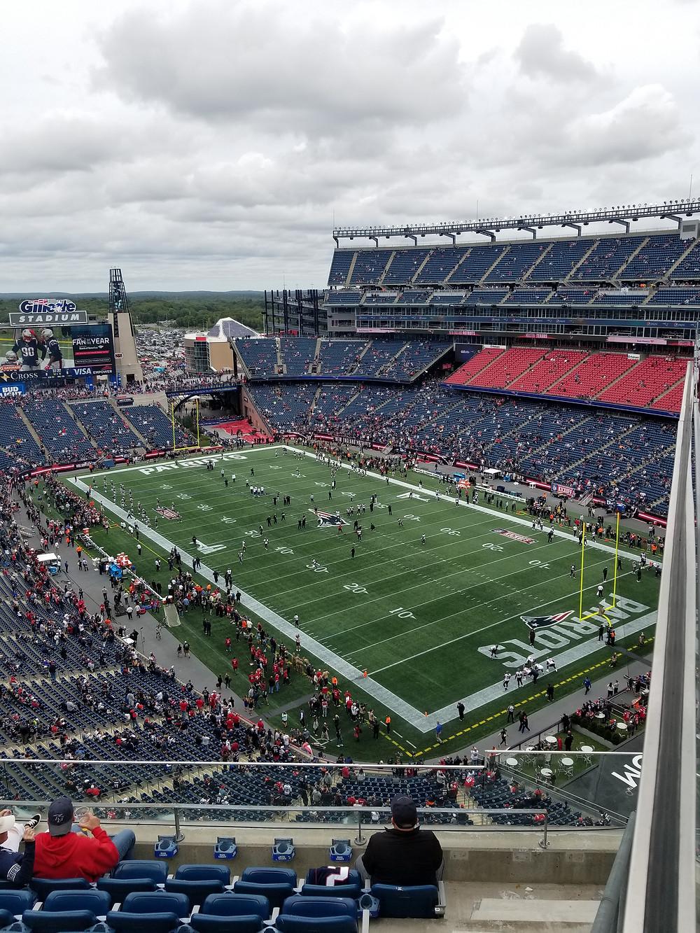 Stadium Review of Gillette Stadium - Foxborough, MA