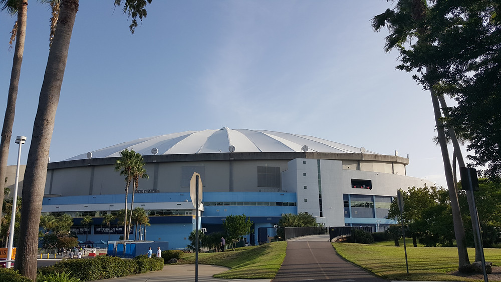 Stadium Review - Tropicana Field - Tampa Bay