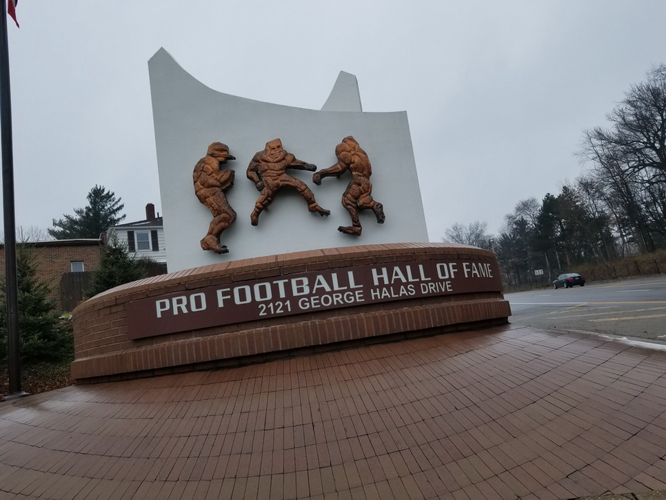 Pro Football Hall of Fame - Canton, OH