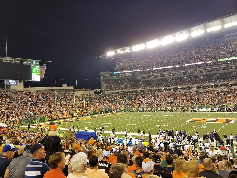 Stadium Review of Paul Brown Stadium, Cincinnati