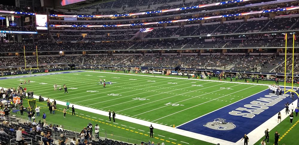 Stadium Review of  AT&T Stadium, Dallas