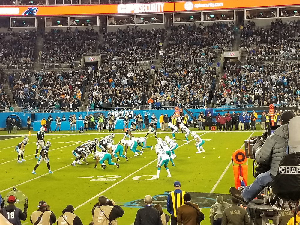 Stadium Review of Bank of America Stadium, Charlotte