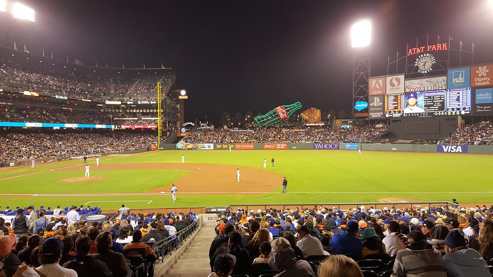 Stadium Review - AT&T Park - San Francisco