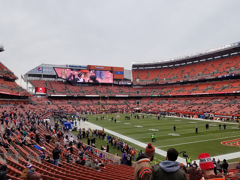 Stadium Review of First Energy Stadium, Cleveland