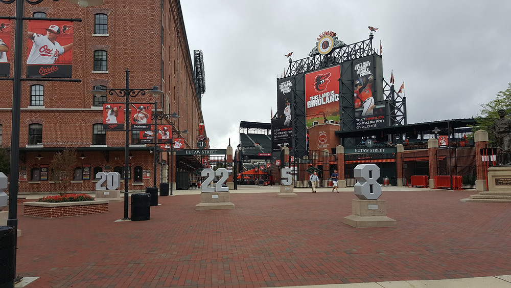 Stadium Review - Oriole Park at Camden Yards - Baltimore