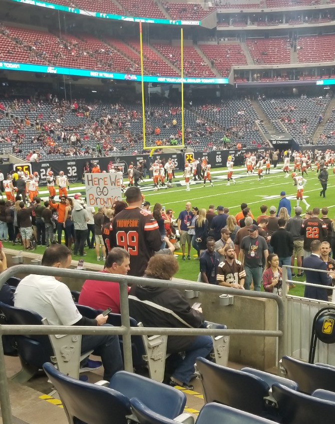 Stadium Review of NRG Stadium, Houston