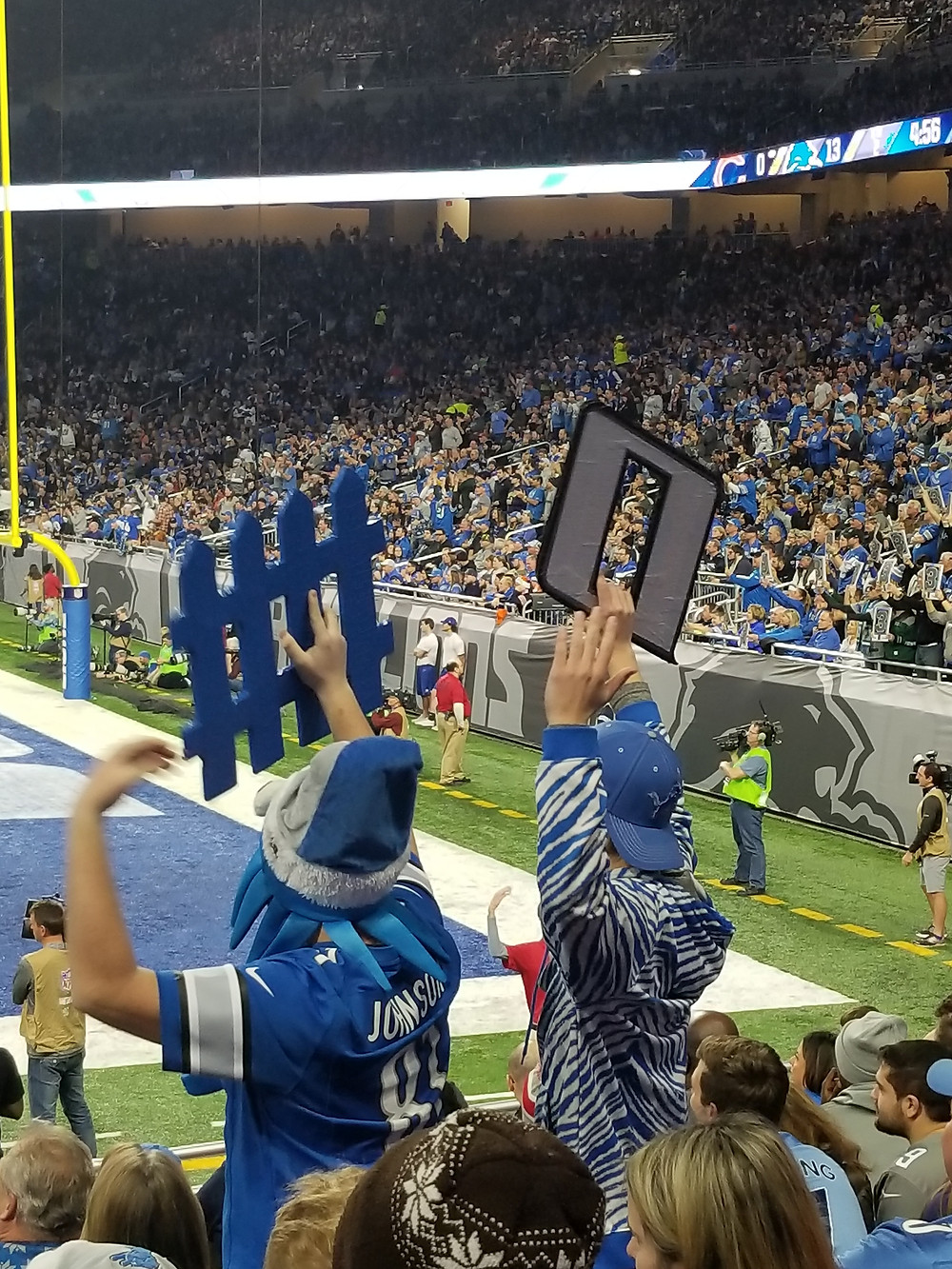 Stadium Review of Ford Field, Detroit