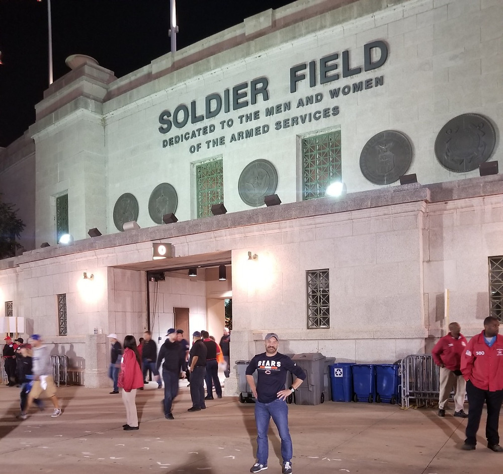 Stadium Review of Soldier Field, Chicago
