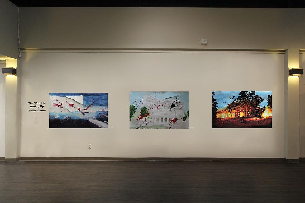 Watercolour Paintings, Audrey Messersmith, Redeemer Art Gallery, Redeemer University, Christian Art