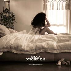"""Mila J """"October 2018"""""""