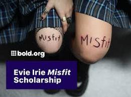 Evie Irie Misfit Scholarship