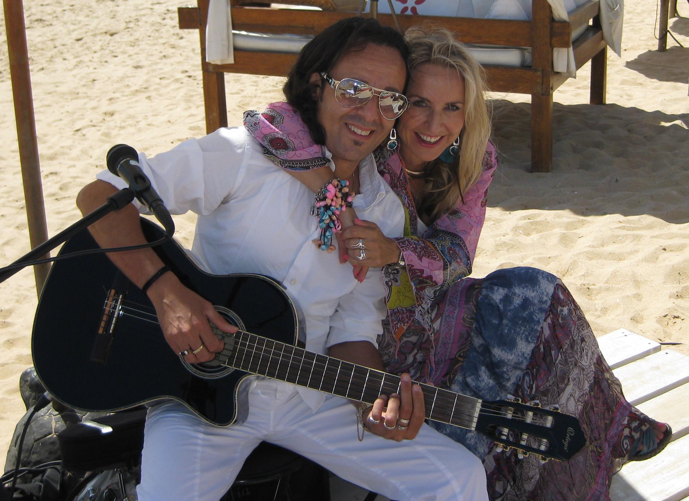 Algarve beach ceremony