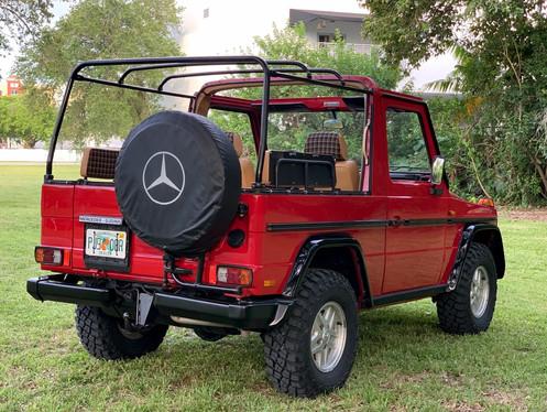 GG Classics of Miami Florida Mercedes G-Wagon Convertible Customization