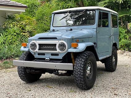 GG Classics of Miami Florida - Classic Toyota Land Cruiser Restoration & Customization