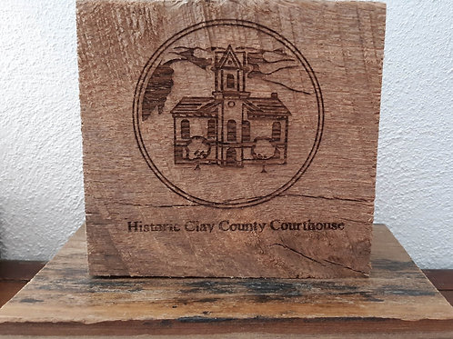Collectible HCCC Wood Block (Large)