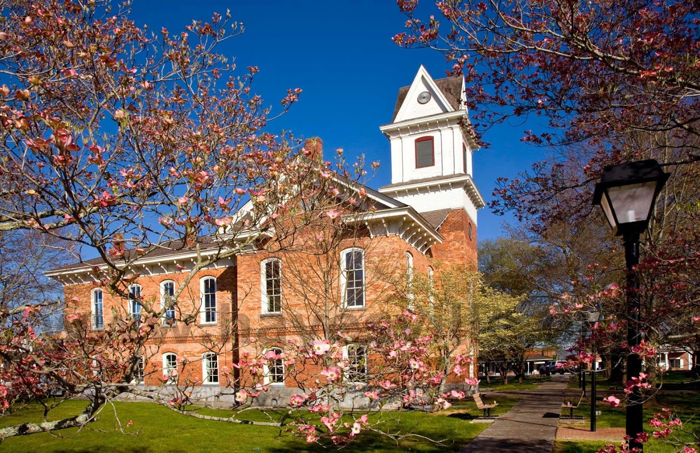 Courthouse in Spring